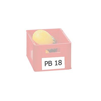 Etiketten - BxH 210 x 60 mm - VE 50 Stk