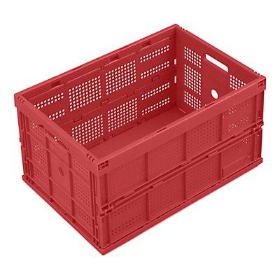 WALTHER Faltbox aus Polypropylen - Inhalt 60 l, ohne Deckel