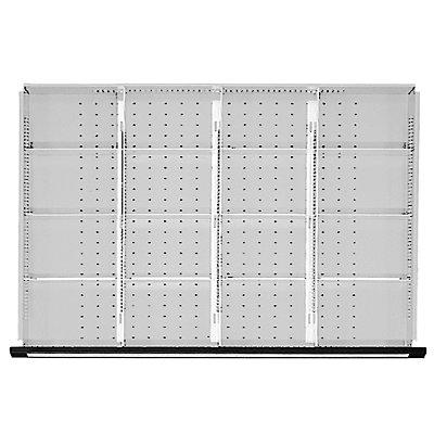 Trennbleche für Schubladenschränke, für Schrankbreite 1060 mm für Schubladenhöhe 60 mm