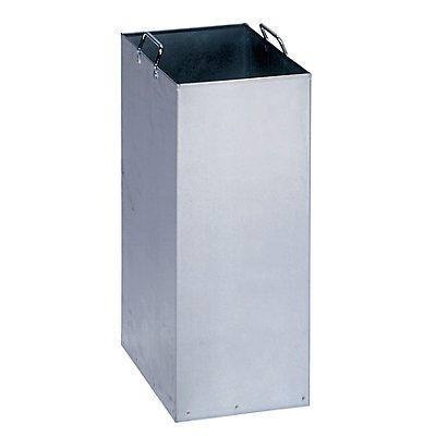 Innenbehälter für Wertstoff-Trenn- und Sammelbehälter - aus verzinktem Stahlblech