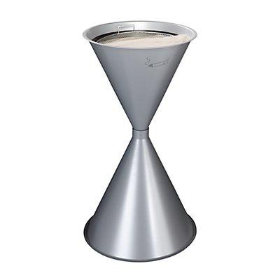 VAR Kegel-Standascher - Stahlblech, pulverbeschichtet - feuerrot, ab 2 Stk