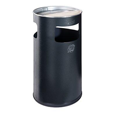 VAR Kombiascher - rund, Stahlblech, Höhe 760 mm, Ø 420 mm