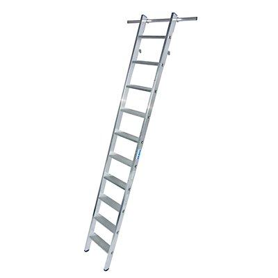 Stufen-Regalleiter, einhängbar, 2 Paar Einhängehaken