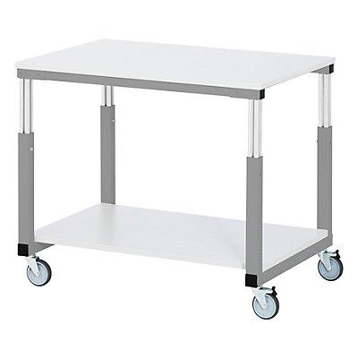 RAU Tischwagen ESD, Melaminharzplatte