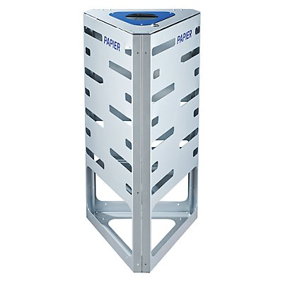 Einsatz für Abfalltrennsystem, Stahlblech