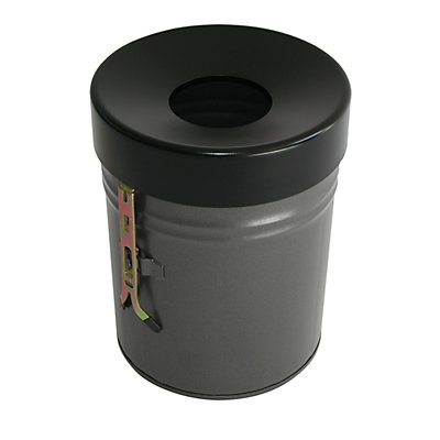 Wandabfallbehälter, Volumen 24 l, HxØ 370 x 295 mm