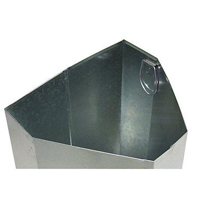 Innenbehälter für Abfalltrennsystem, Volumen 45 Liter HxBxT 600 x 325 x 220 mm