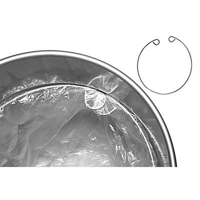 Ringhalterung, für Müllbeutel für Stahlpapierkorb