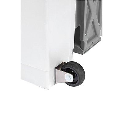 Rollen für Abfallbehälter, mit Inhalt 70 und 90 l schwarz