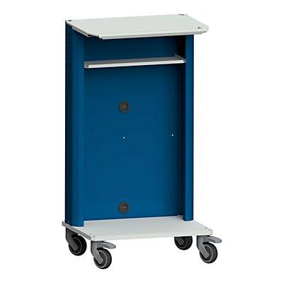 ANKE Laptop- / Gerätewagen, Basismodell grau / blau