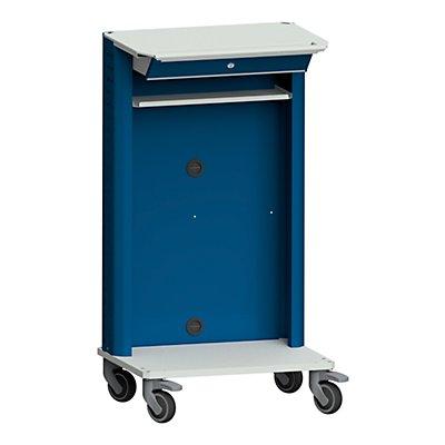ANKE Laptop- / Gerätewagen, mit Laptopfach grau / blau