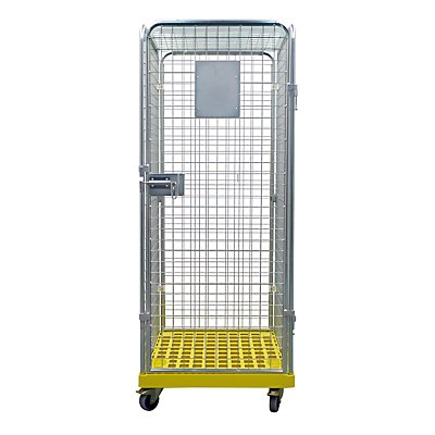 Rollcontainer GELBE BOX, 5-seitig