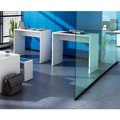 Hammerbacher Multifunktionstisch, groß - HxBxT 1083 x 1200 x 650 mm - weiß