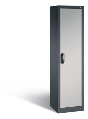 cp  CP Armoire de bureau ACURADO, l x p 500 x 500 mm gris noir / aluminium... par LeGuide.com Publicité
