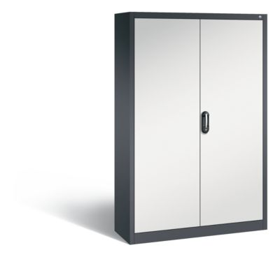 cp  CP Armoire de bureau ACURADO, l x p 1200 x 400 mm gris noir / gris... par LeGuide.com Publicité