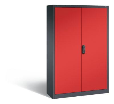 cp  CP Armoire de bureau ACURADO, l x p 1200 x 400 mm gris noir / rouge... par LeGuide.com Publicité