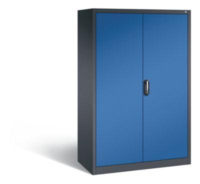 cp  CP Armoire de bureau ACURADO, l x p 1200 x 600 mm gris noir / bleu... par LeGuide.com Publicité