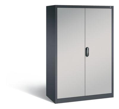 cp  CP Armoire de bureau ACURADO, l x p 1200 x 600 mm gris noir / aluminium... par LeGuide.com Publicité