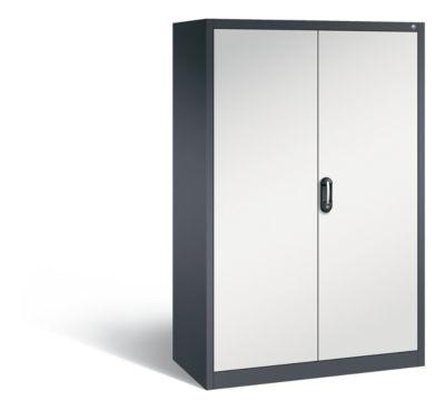 cp  CP Armoire de bureau ACURADO, l x p 1200 x 600 mm gris noir / gris... par LeGuide.com Publicité
