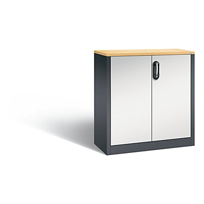 CP ACURADO Akten-Sideboard, 2 Ordnerhöhen, HxBxT 1000 x 930 x 400 mm