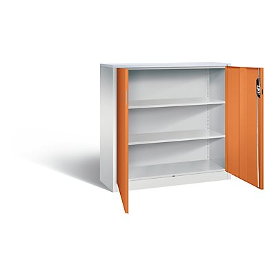 CP ACURADO Akten-Sideboard, 3 Ordnerhöhen, HxBxT 1200 x 1200 x 400 mm
