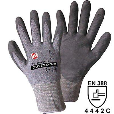 Handschuhe CUTEXX-5-P - grau, VE 12 Paar