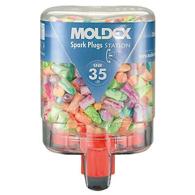 Gehörschutzstation MOLDEX, bunt inklusive 250 Paar Spark Plugs