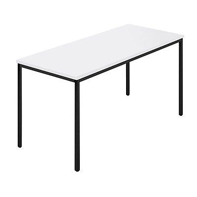 Rechtecktisch, Vierkantrohr - 1400 x 700 mm