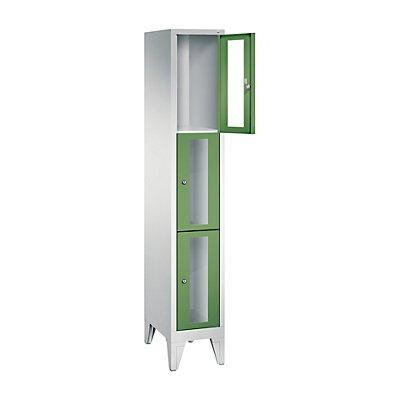 CP CLASSIC Fächerschrank, Fachhöhe 510 mm, mit Füßen, 3 Fächer, Breite 320 mm