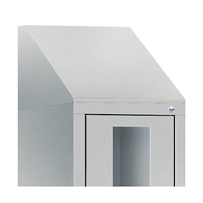 CP Schrägdachaufsatz, für Schrankbreite 420 mm für CLASSIC Fächerschrank