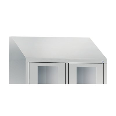 CP Schrägdachaufsatz, für Schrankbreite 610 mm für CLASSIC Fächerschrank
