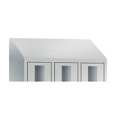 CP Schrägdachaufsatz, für Schrankbreite 1200 mm für CLASSIC Fächerschrank