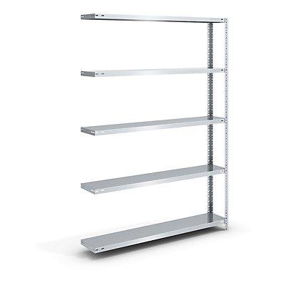 hofe Schraubregal, Bauart leicht, verzinkt - Regalhöhe 2000 mm, Bodenbreite 1300 mm