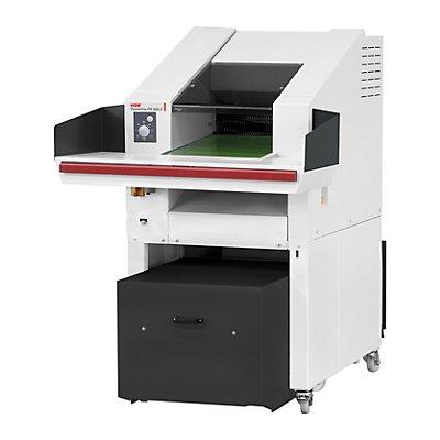 Schredder-Pressen-Kombination, Presskraft 80 kN, Schnittbreite 10,5 mm