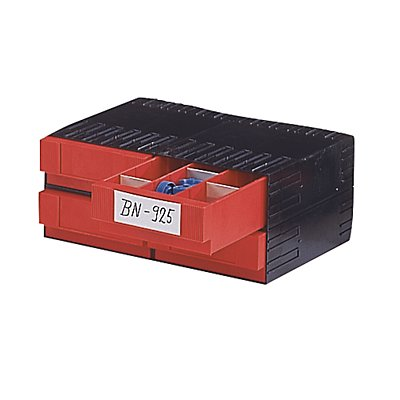 Kombi-Schubladensystem aus Polystyrol - mit 4 Schubladen 3 x 71 mm
