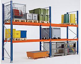 Montant pour rayonnage à palettes, charge max. 8500 kg - hauteur montants 2100 mm