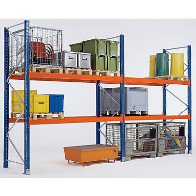 SLP Palettenregal-Stützrahmen, Traglast max. 8500 kg - Stützrahmenhöhe 3990 mm