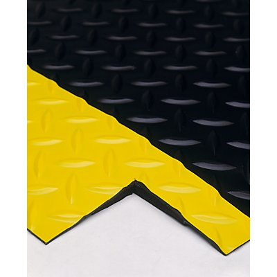 COBA Anti-Ermüdungsmatte, PVC / Neopren - feste Größe, schwarz