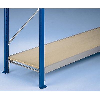 SLP Weitspannregal-Fachebene, mit Spanplatteneinlagen 19 mm - Traversenlänge 2100 mm