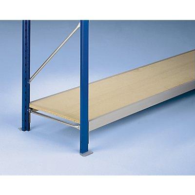 SLP Weitspannregal-Fachebene, mit Spanplatteneinlagen 19 mm - Traversenlänge 1200 mm