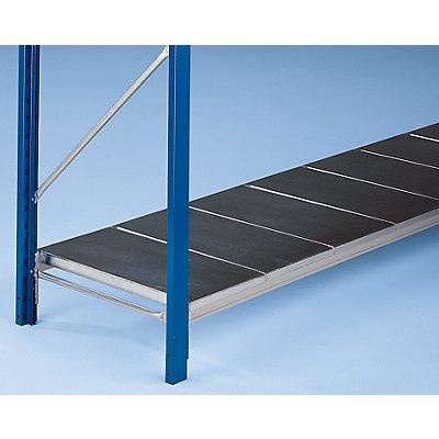 SLP Weitspannregal-Fachebene, mit glatten Stahlauflagen - Traversenlänge 1500 mm