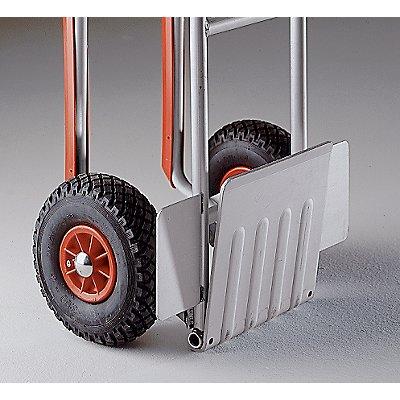 EUROKRAFT Sackkarre mit klappbarer Schaufel - Tragfähigkeit 200 kg - Tragfähigkeit 200 kg