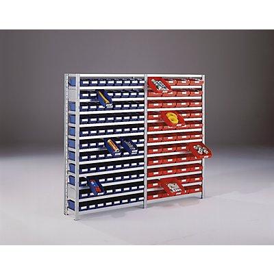 STEMO Steckregal mit Regalkästen - Regalhöhe 2100 mm