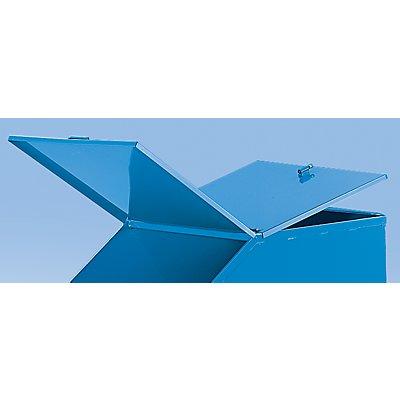 Doppel-Klappdeckel - lichtblau RAL 5012