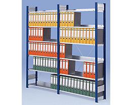Akten-Steckregal ohne Rückwand - Regal, einseitig, Höhe 2000 mm