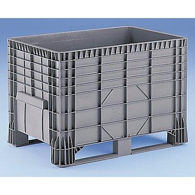 Großbehälter aus Polyethylen - Inhalt 550 l, 2 Kunststoffkufen