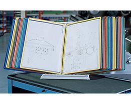 Tarifold Pupitre de table pour pochettes transparentes - set complet