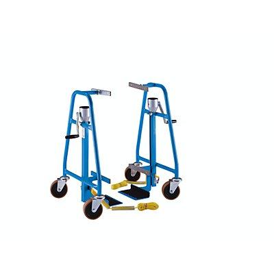 RRR Hubtransporter, mechanisch - Tragfähigkeit 600 kg - Hub 300 mm, Paar