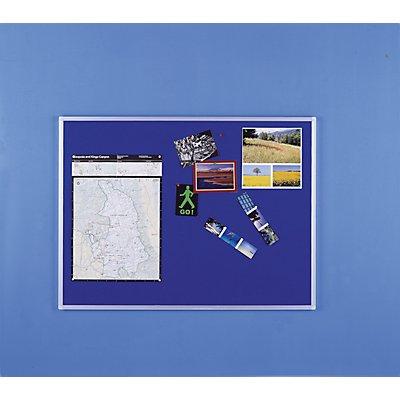 Vanerum Pinnwand - aus Filz, blau