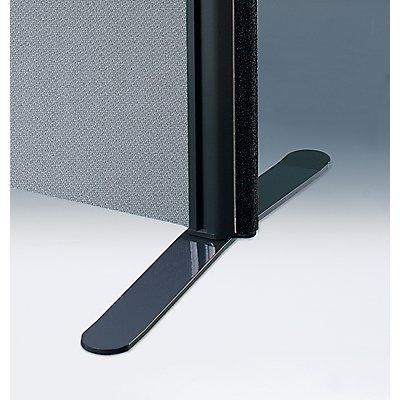 Flachfuß - für Akustik-Trennwand